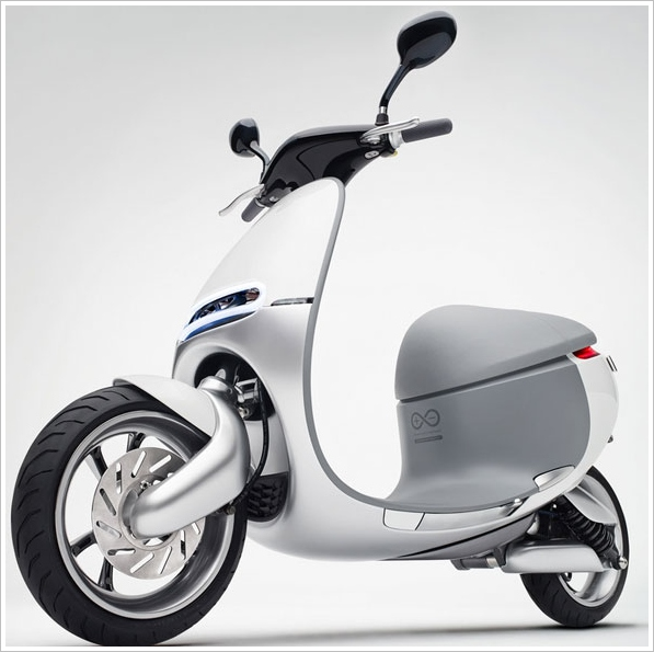 Gogoro – the world's first 'smart' scooter?