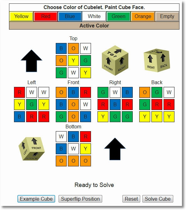 Rubik Solve – solve your impossible cube in less than 25 moves