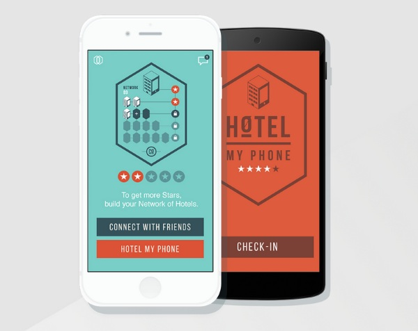 Hotel My Phone App In USe