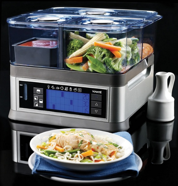 The Only Three Course Electric Steamer – make healthy yummy meals with one device