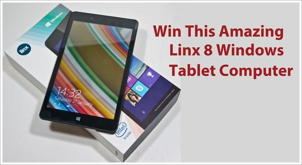 Red Ferret Giveaway – Linx 8 Windows Tablet Computer – LAST 48 HOURS!!