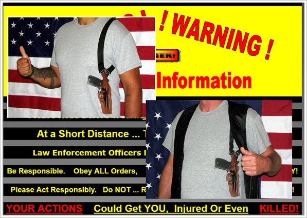 Open Carry T-Shirts – when life needs a little spicing up, just wear one of these