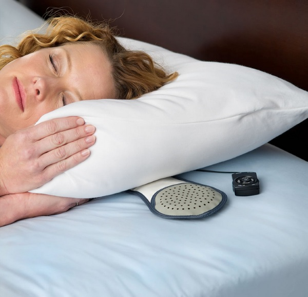 Slimmest Under Pillow Speaker – drift off to the sweet sounds of nature without disturbing your roommate