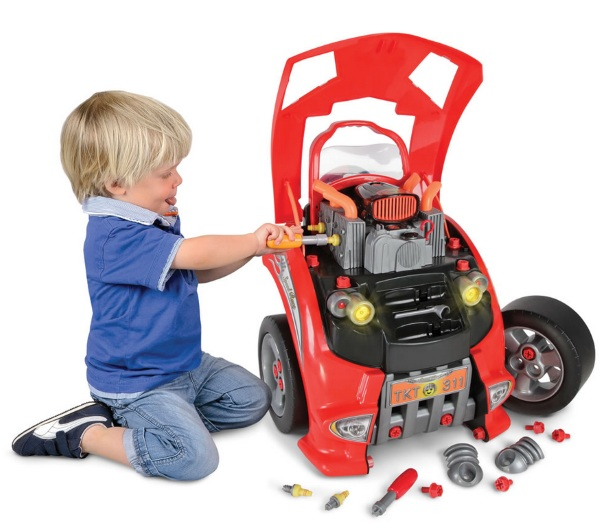 Car Lover's Engine Repair Set – teach your toddler to change the oil in the car