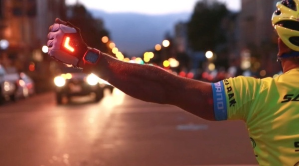 Zackees LED Turn Signal Gloves – use these glove to make your commute a bit safer