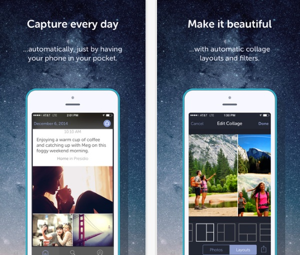 Heyday – let your phone document your life without you