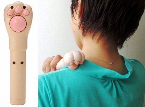 Nyantan Cat Paw Massager – get that kneading feeling whenever you need it