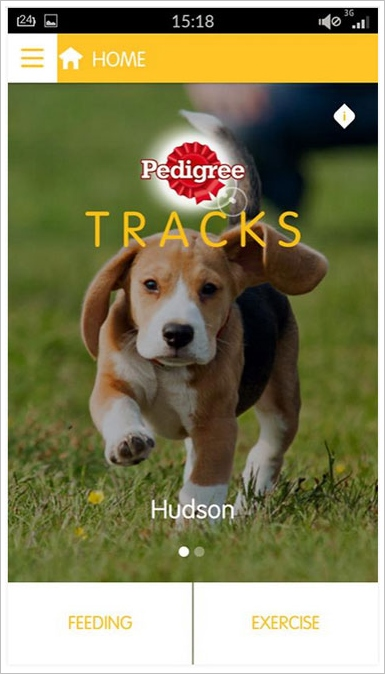 Pedigree Tracks – apparently your dog now needs a fitness app too [Freeware]