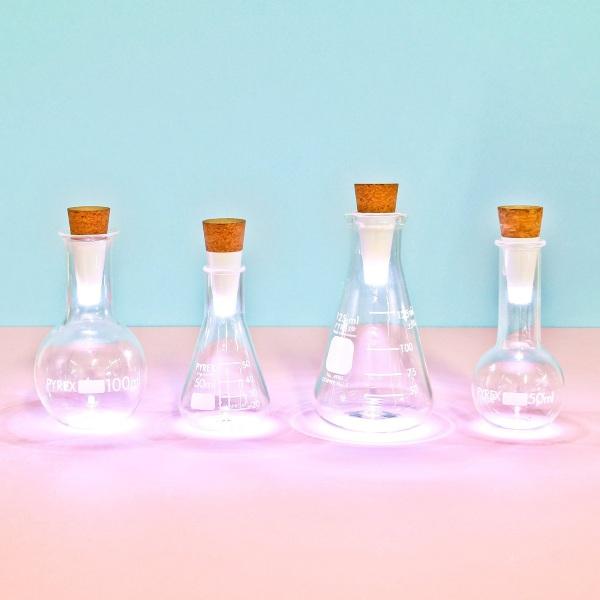 rechargable lights beakers