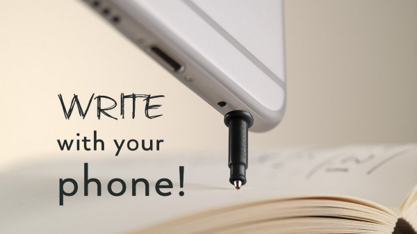 Jackpen – the tiny pen for your cell phone