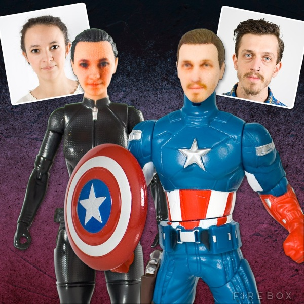 Personalized Superhero Action Figures – turn your likeness into a superhero