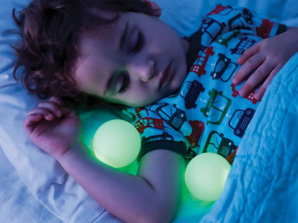 Take With You Nightlight Orbs – more handy than a flashlight for midnight runs down the hall