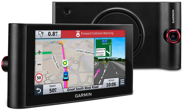 Garmin nuviCam – satellite navigation and dash cam all in one