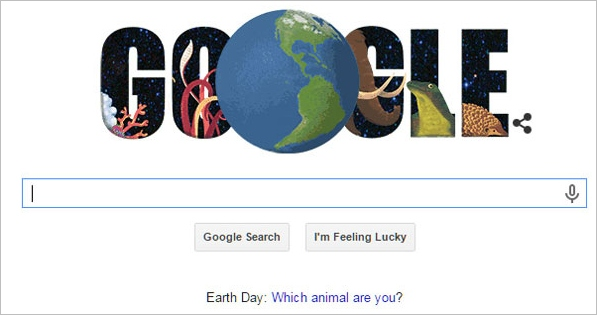 Google Earth Day – what kind of animal are you?