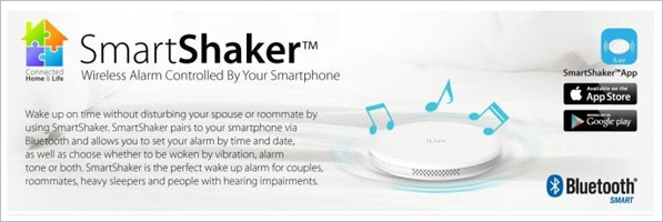 iLuv Smart Shaker Alarm – silent vibration wakes you up, not your cat [Review]