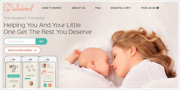 Lullabond – find out why your baby is crying using your phone