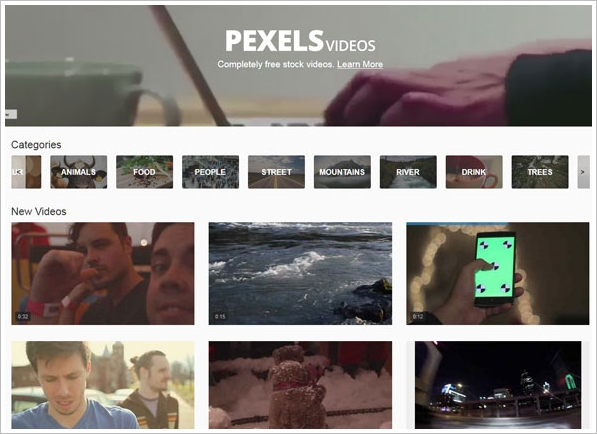 Pexels – free video clips for anyone to download [Freeware]
