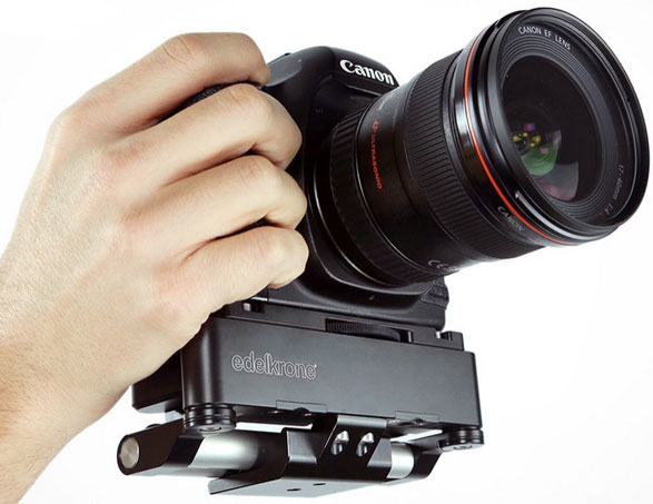 PocketRig 2 – turn your humble DSLR into a full blown Pro rig with this cool pocket sized adapter