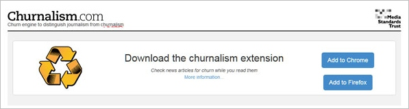 Churnalism gets an updated set of browser plugins [Freeware]