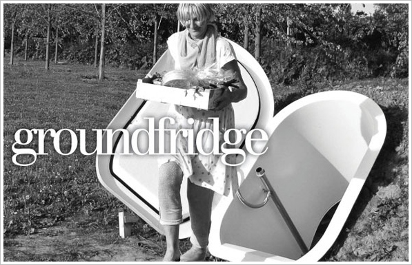 Groundfridge – the perfectly eco way to store your family food