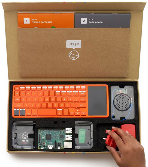 Kano – the new DIY computer in a box gets an upgrade