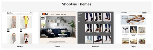 shoptsiethemes Shoptsie   super easy way to sell stuff in your own online store