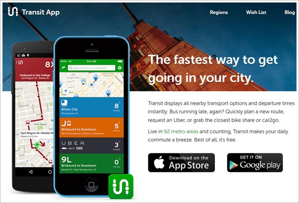Transit App – great little app for navigating your city transport [Freeware]