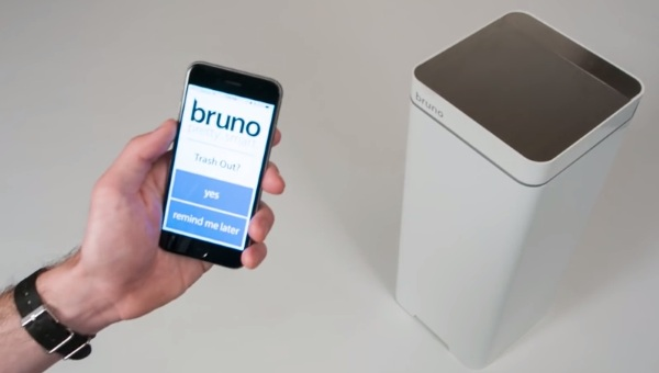 Bruno Smartcan – connect your garbage to your smartphone for cleaner living