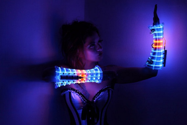 LED Costume Arm Guards – add a little glow to your look