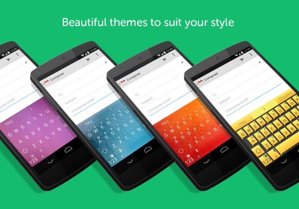 SwiftKey colors