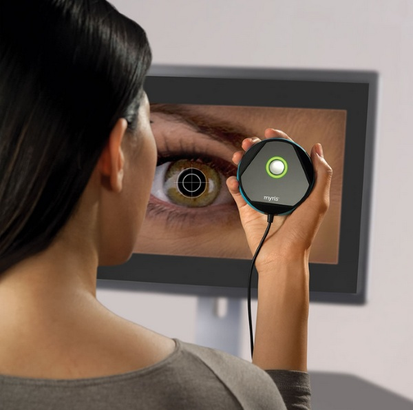 Eye Scanning Password Authenticator – every eye is different