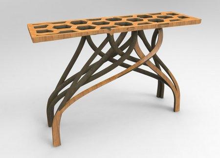 "Entrepreneur ""grows"" real furniture"
