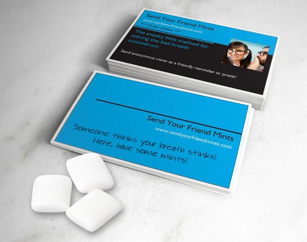 Send Your Friends Mint – help your buddies get the hint without hurting their feelings