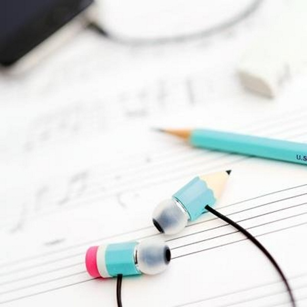 Magic Pencil Earphones – a set of earbuds good for a goof