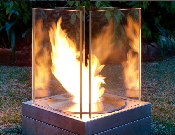 Mini T – a fireplace for anywhere
