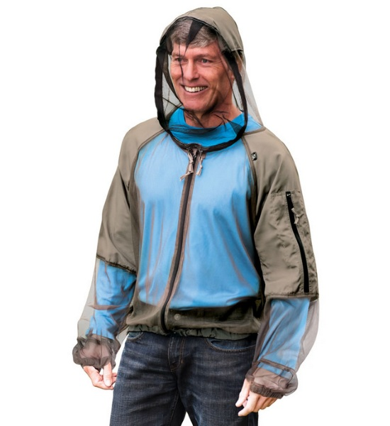 Hooded Zip Up Mosquito Jacket – stay clothed, stay safe