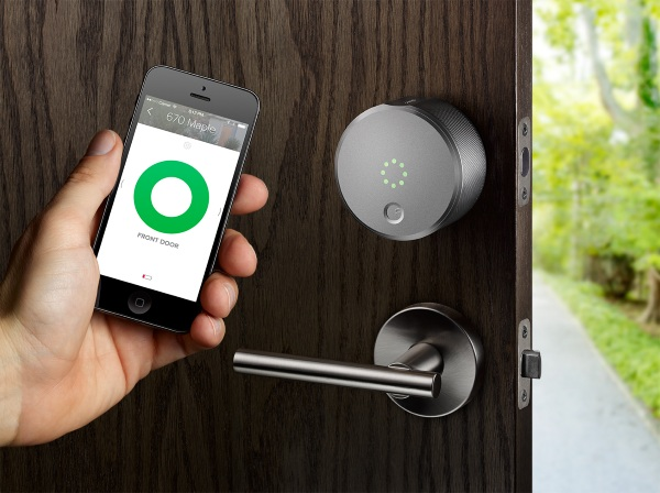 August Smart Lock – ditch your keys for your smartphone