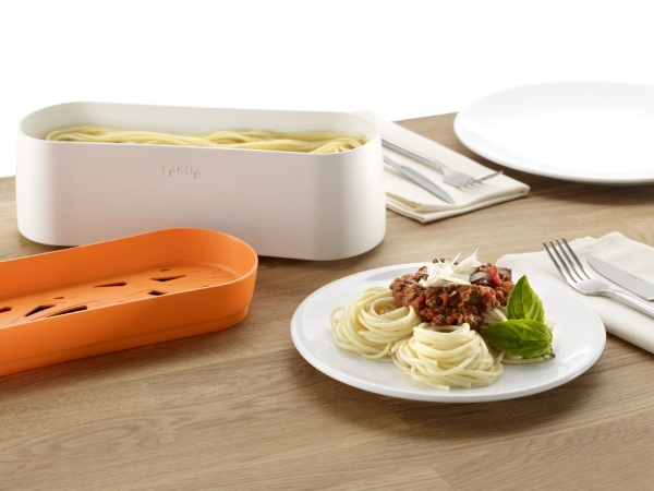 Lekue Pasta Cooker – don't wait on water to boil for spaghetti ever again