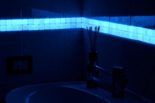 Listello Flat Tile – make your bathroom glow