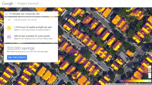 Project Sunroof – how much will solar power really save you?