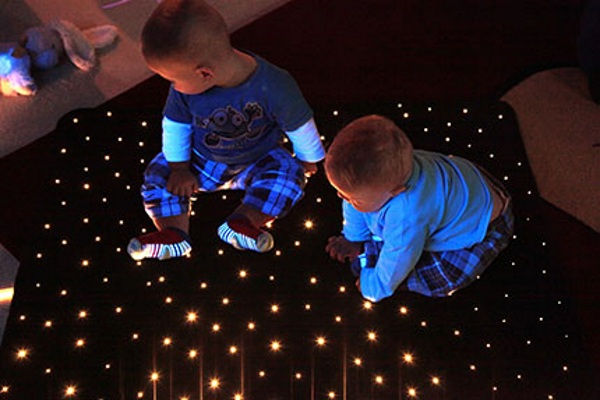Star Carpet – walk on the stars in your living room