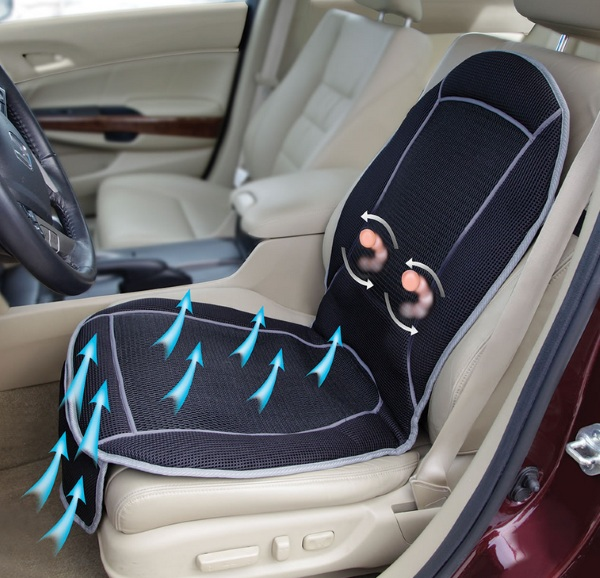 Cooling Massaging Seat Cushion – say goodbye to hot, sticky seats