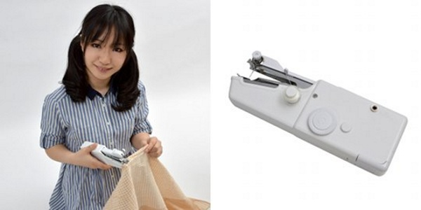 USB Mini Electric Sewing Machine – patch up your clothes right at your computer