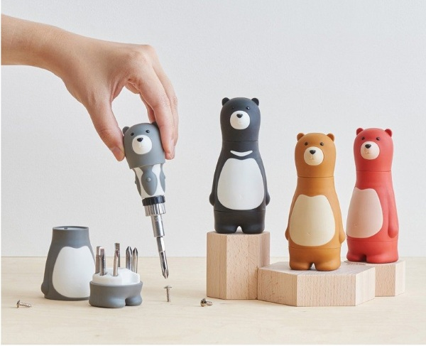 Bear Papa Ratchet Screwdriver – the cutest tool you'll own