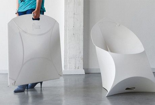 Flux Chair – the folding chair that really folds