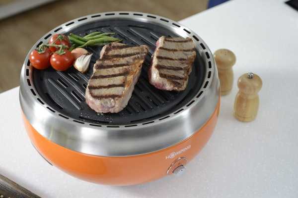 Homping Grill – the portable charcoal grill for grilling anywhere