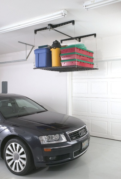 RacorPro HeavyLift Storage Rack – reclaim the space in your garage