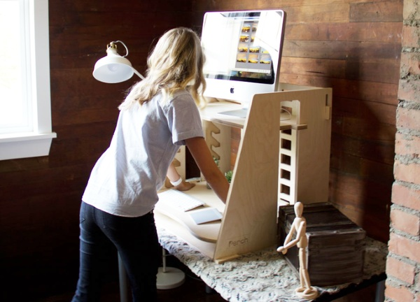 Perch – a sit to stand desk for every body