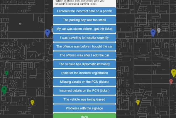 DoNotPay – the app to help you beat parking fines [FREEWARE]