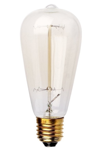 Edison Style Antique Light Bulbs off